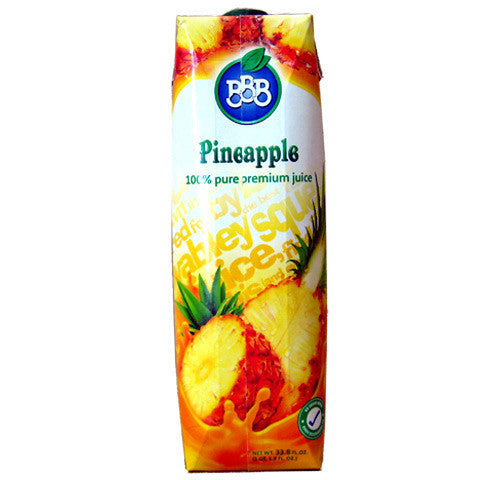 Pineapple Juice (BBB) 1L - Parthenon Foods