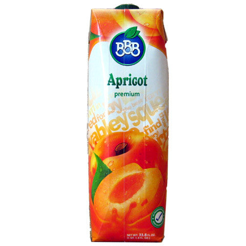Apricot Nectar (BBB) 1L - Parthenon Foods