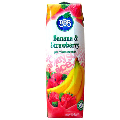 Banana and Strawberry Nectar (BBB) 1L - Parthenon Foods