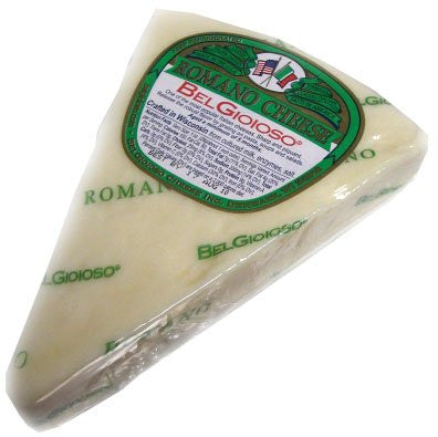 Romano Cheese Wedge, BelGioioso, approx. 8 oz - Parthenon Foods