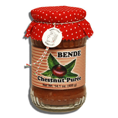 Chestnut Puree (Bende) 14.1oz (400g) - Parthenon Foods