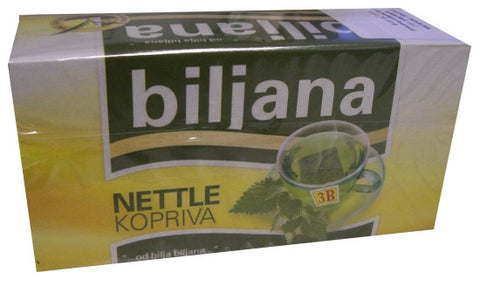 Nettle Tea, Kopriva (Biljana)  20 filter bags, 18g - Parthenon Foods