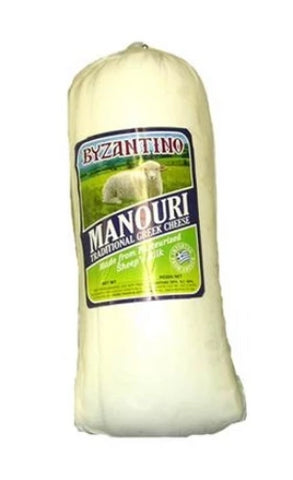 Manouri Cheese (Byzantino) approx. 2 kg (4.4 lbs) - Parthenon Foods