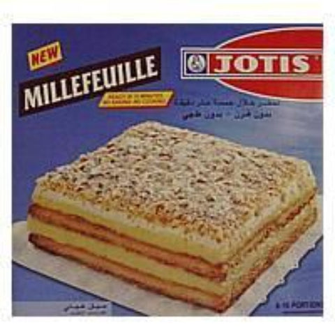 Millefeuille Mix, makes 8-10 portions - Parthenon Foods