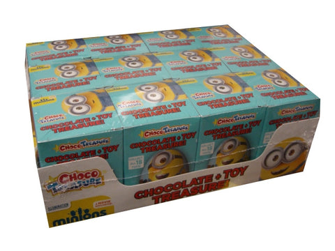 Minions Milk Chocolate Eggs with Toy Surprise (Pack of 12) - Parthenon Foods