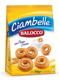 Ciambelle Biscuits (Balocco) 700g (24.6 oz) - Parthenon Foods