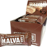 Cocoa Halva Snack Bars, Macedonian CASE (16 x 40g) - Parthenon Foods