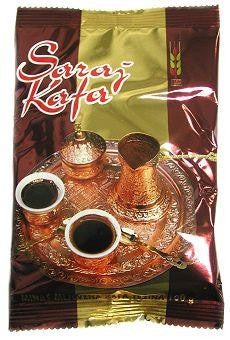 SARAJ KAVA Ground Coffee, 500g - Parthenon Foods