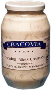Herring Fillets - Creamed, 26oz - Parthenon Foods