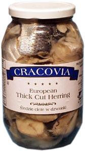 Thick Cut Herring - European Style, 26oz - Parthenon Foods