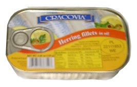 Herring Fillets in Oil (cracovia) 170g - Parthenon Foods