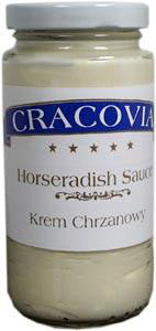 Horseradish Sauce Creamy Smooth (cracovia) 8fl.oz. - Parthenon Foods