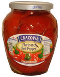 Marinated Red Peppers (cracovia) 660g - Parthenon Foods