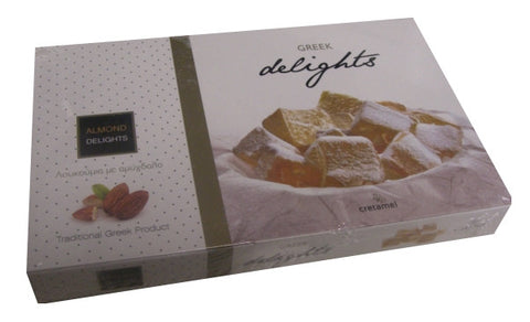Loukoumi Delights with Almond (Cretamel) 300g - Parthenon Foods