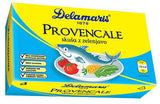 Mackerel with Vegetables, Provencale (Delamaris) 125g (4.4oz) Or Marco Polo - Parthenon Foods