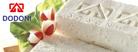 Greek Feta Cheese DODONI, approx. 4 lb, Deli Fresh - Parthenon Foods