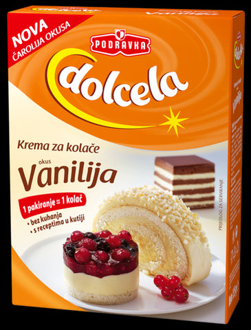 Cake Cream Mix - Vanilla 4.7 oz (135g) - Parthenon Foods