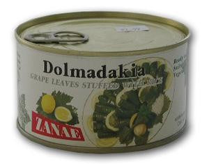 Grape Leaves stuffed with rice (zanae)  850g - Parthenon Foods
