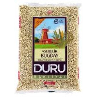 Shelled Wheat, Asurelik Bugday, (DURU) 1 kg - Parthenon Foods