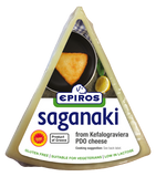 Greek Saganaki Cheese (EPIROS) 7 oz - Parthenon Foods
