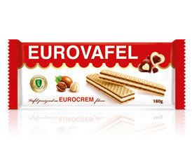 Eurovafel Eurocream Wafer (Takovo) 180g - Parthenon Foods