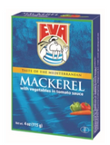 Eva Skusa (Mackerel) with Vegetables, 4oz (115g) - Parthenon Foods