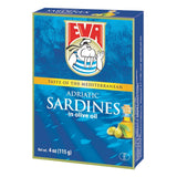 Eva Sardines in Olive Oil, 115g(4oz) - Parthenon Foods