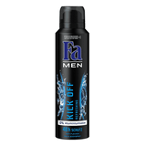 Fa Spray Deodorant For Men Kick-Off, 150ml - Parthenon Foods
