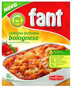Fant Seasoning Mix for Baked Pasta Bolognese, 60g - Parthenon Foods