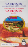 Sardines Skinless and Boneless in Oil (Fantis) 125g - Parthenon Foods