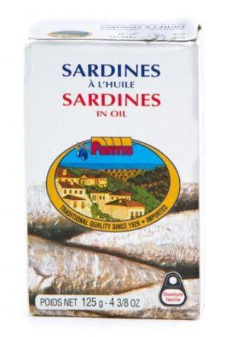 Sardines in Oil (Fantis) 125g - Parthenon Foods