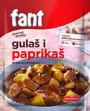 Fant Seasoning Mix for Hungarian Stew, Goulash, Paprikash, 2.3oz - Parthenon Foods