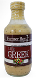 Farmer Boy LITE Greek Dressing, 16 oz - Parthenon Foods