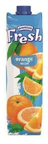 Orange Juice (FRESH), 1L - Parthenon Foods