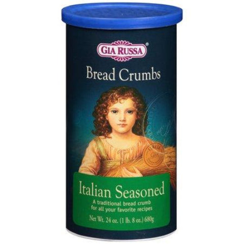 Bread Crumbs, Italian Style, 24oz - Parthenon Foods