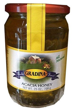 Acacia Honey (Gradina) 25 oz - Parthenon Foods