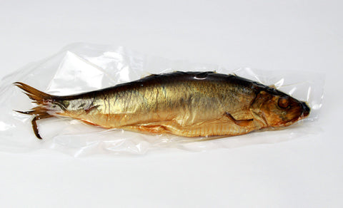 Whole Smoked Herring, Greek, approx. 0.6-0.7 lb - Parthenon Foods