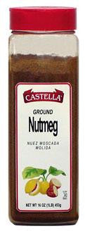Nutmeg, Ground, 7 oz (198g) - Parthenon Foods