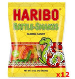 Haribo Rattle Snakes Gummi Candy, CASE (12 x 5oz Bags) - Parthenon Foods