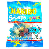 Haribo SOUR Smurf Gummi Candy, 4 oz - Parthenon Foods