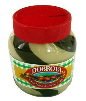 Swirled Hazelnut Chocolate Spread (dobrova) 750g - Parthenon Foods