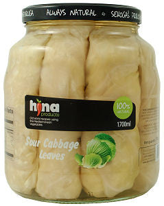 Cabbage Leaves (Hina) 1700g - Parthenon Foods