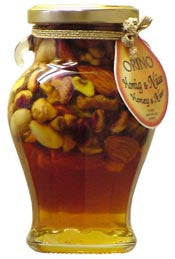 Honey with Mixed Nuts, 250g - Parthenon Foods