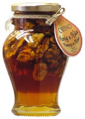 Honey with Walnuts, 250g - Parthenon Foods