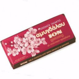 Milk Chocolate with Almonds  (ION) 200g - Parthenon Foods