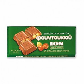 Milk Chocolate with Hazelnuts (ION)  200g - Parthenon Foods