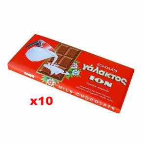 Milk Chocolate (ION) CASE (10 x 100g) - Parthenon Foods