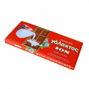 Milk Chocolate (ION) 100g - Parthenon Foods