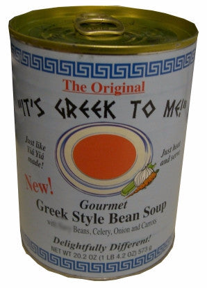 Greek Style Bean Soup (ItsGreekToMe) 20.2 oz - Parthenon Foods