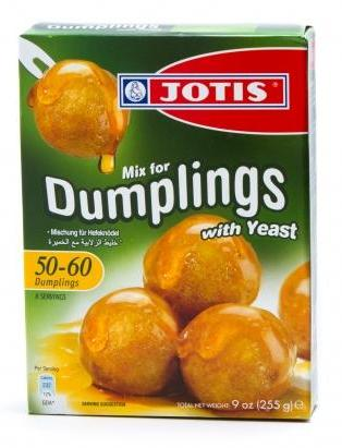 Dumpling Mix with yeast (Loukoumades) 253g - Parthenon Foods